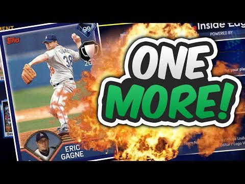 ONE GAME AWAY FROM 99 DIAMOND ERIC GAGNE! | MLB THE SHOW 17 DIAMOND DYNASTY