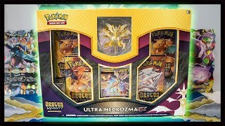Dragon Majesty Ultra Necrozma GX Figure Collection Box! Pokemon TCG