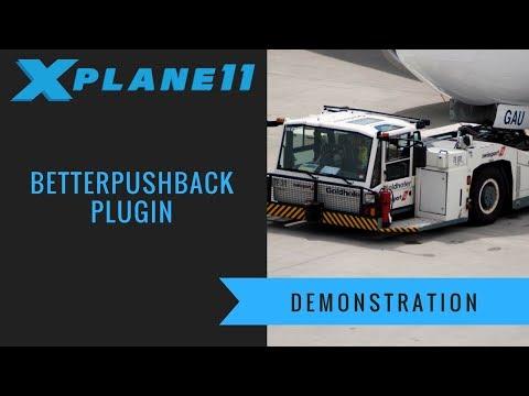 X-Plane 11 - Better Pushback Plugin Demonstration - YouTube