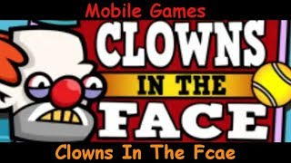 Clowns in the Face - Creepy Clowns And Tennis - Android & iOS Gameplay Game Review