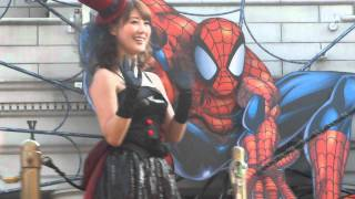 2011年10月8日 USJ 安めぐみ パレード.