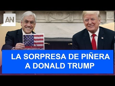 La Inusual Sorpresa Que Mostró El Presidente Piñera En Reunión Con Trump