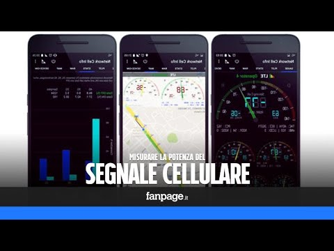 Con questa app puoi misurare con precisione la potenza del segnale cellulare