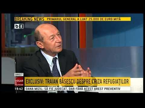 Basescu, despre criza refugiatilor