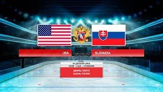 «Турнир четырёх наций» США – Словакия
