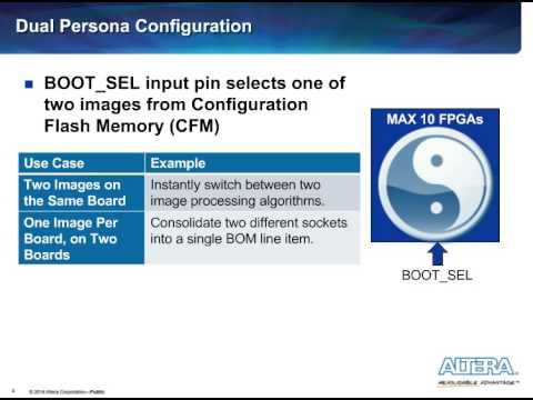 MAX 10 FPGA Configuration