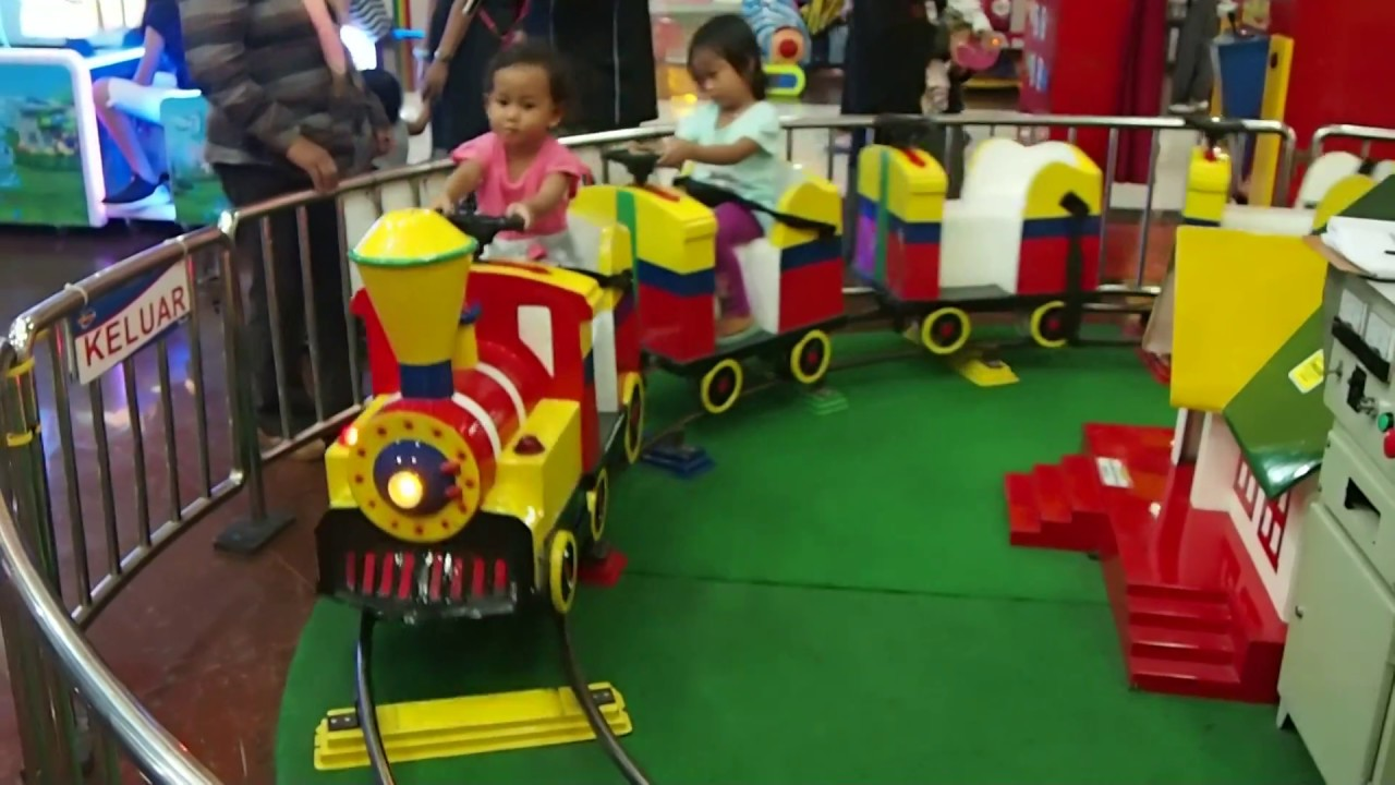 Bahagia Itu Kereta Api Mainan Anak Anak Youtube