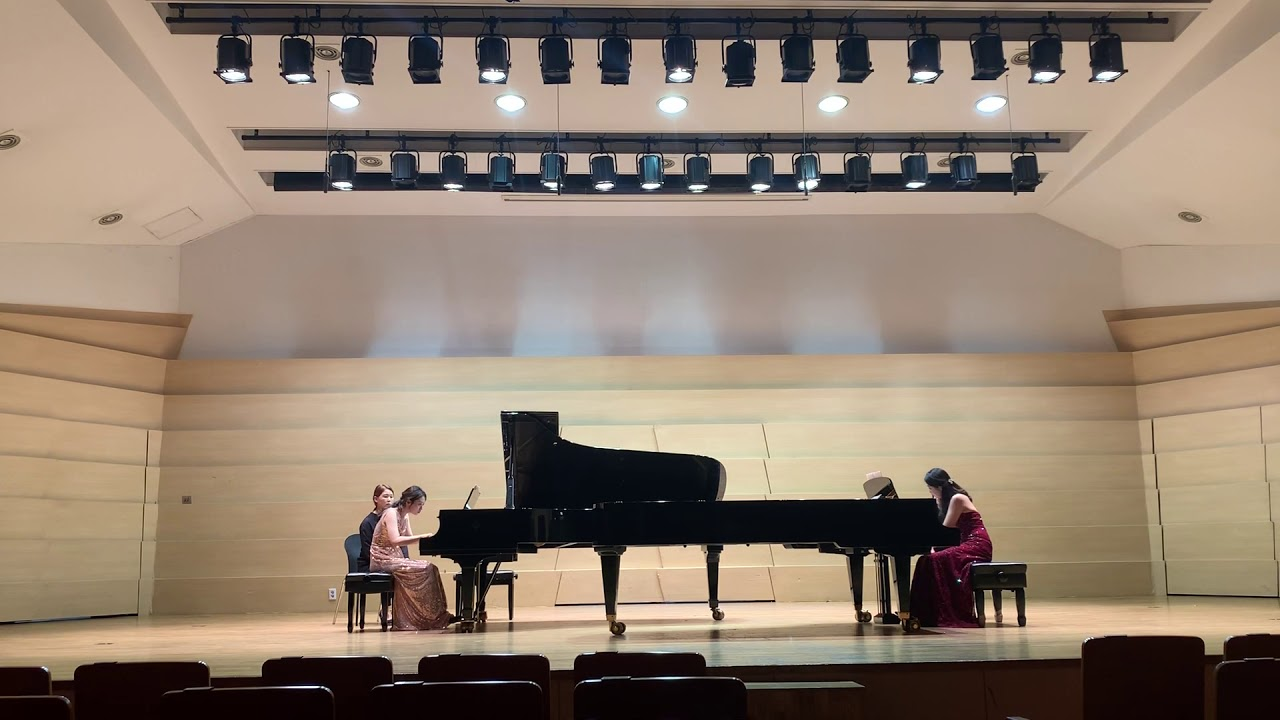 Mussorgsky Pictures at an Exhibition for 2 pianos 4 hands ...