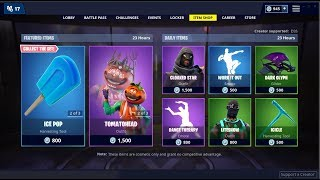 *NEW*Extra Cheese Glider & Tomatohead Skin (Back)! Fortnite Item Shop February 18, 2019