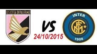 Video Gol Pertandingan Palermo vs Inter Milan