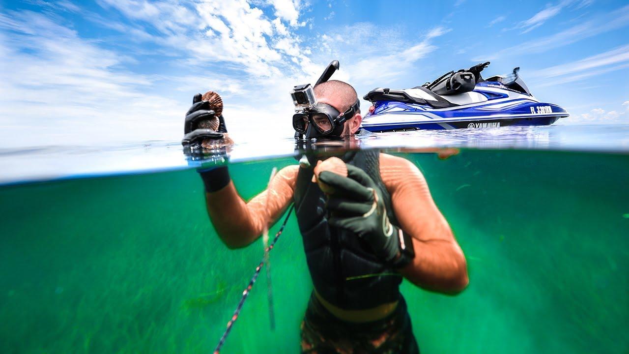 exploring-ocean-s-bottom-for-edible-treasure-tropical