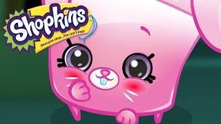SHOPKINS Cartoon - CUTE LITTLE PINK BUNNY RABBIT | Cartoons For Children