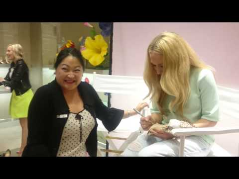 Meeting designer Sophia Webster