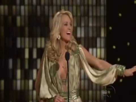 Carrie Underwood in Jean Fares Couture at the CMA