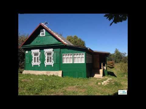 Деревянный дом в пгт Уваровка, МО, Можайский р...