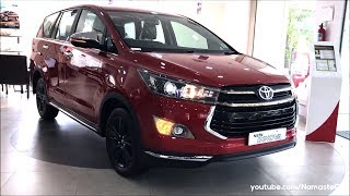 Toyota Innova Crysta Touring Sport AN140/DC Lounge 2018 | Real-life review