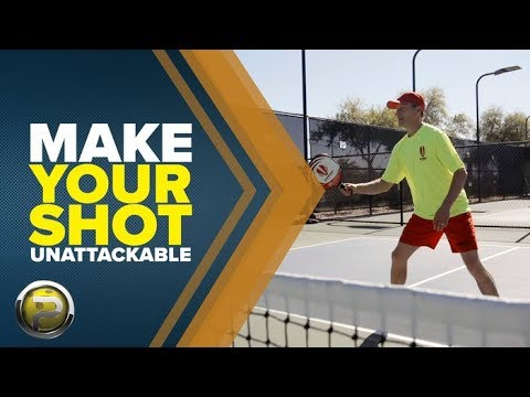 Make Your Shot Unattackable - Pickleball Quick Tip with Dave Weinbach