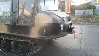 Вездеход ПБ-02.Отправка в г.Новосибирск