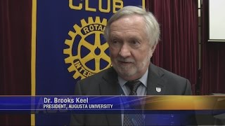 Dr. Brooks Keel Says Future Of Augusta University Is Bright