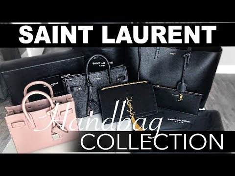 SAINT LAURENT HAND BAG COLLECTION | YSL Sac De Jour Bags | Review + Comparisons