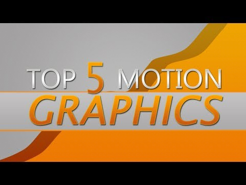 Motion Graphics Top 5 of the Week | #11
