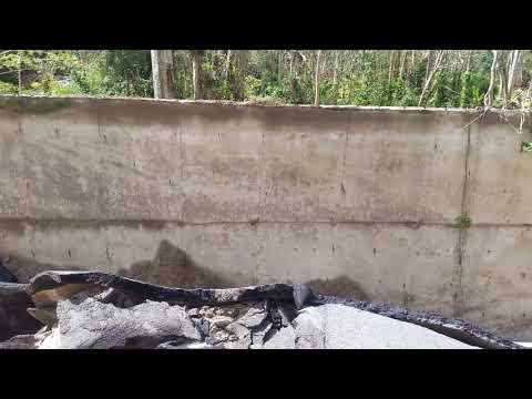 Destrucción en Jayuya 7 Oct 2017 Huracán Maria