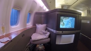 my 10 000 trip on cathay pacific first class for 130