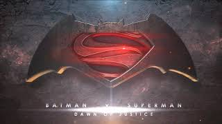 Batman v Superman logo trailer