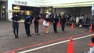 2014年11月1日に行われた千葉大学祭でのアカペラサークルT.o.N.E.による...