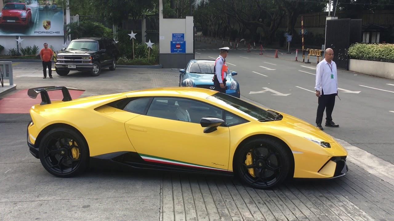 First Lamborghini Huracan Performante In The Philippines Manila