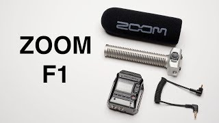 Zoom F1 Audio Field Recorder