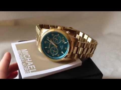 2ebc5c4d2852 MK5815 Michael Kors watch HUNGER STOP - YouTube