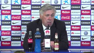 Diego Simeone & Carlo Ancelotti on Atletico Madrid 4 - Real Madrid 0