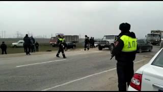 Авария возле Каспийска