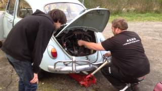 1967 barn find beetle first start in 30 years