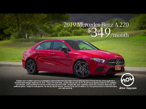 New A-Class $349/mo September Lease Special @ Mercedes-Benz of El Paso