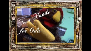 New Hands for Odis!│Puppet Hand Construction│Sewing Tutorial