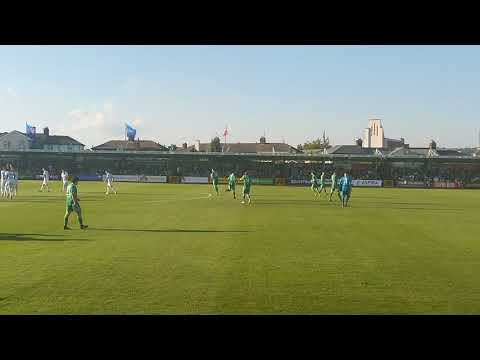 Cork City FC Vs Legia Warszawa champions league  walking on to pitch
