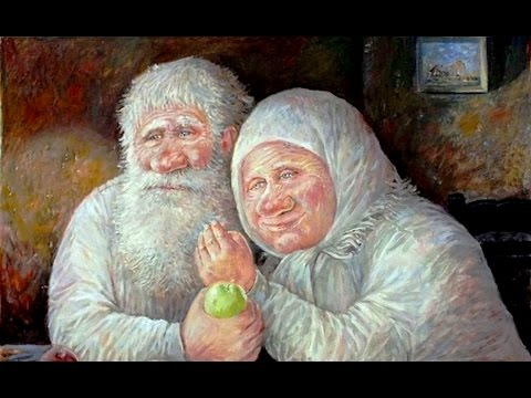 Old Russian Song ☆ Moroz Moroz ☆ Leonid Baranov Paintings ᴴᴰ