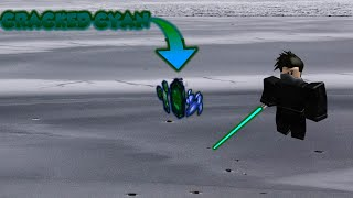 How to Get the Cracked Cyan Crystal in Roblox Star Wars: Jedi Temple on Ilum