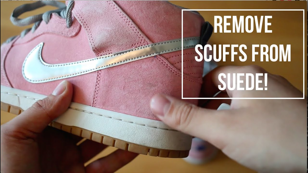 How To  Remove Scuffs and Marks From Suede! - YouTube 2acbb7b475e2
