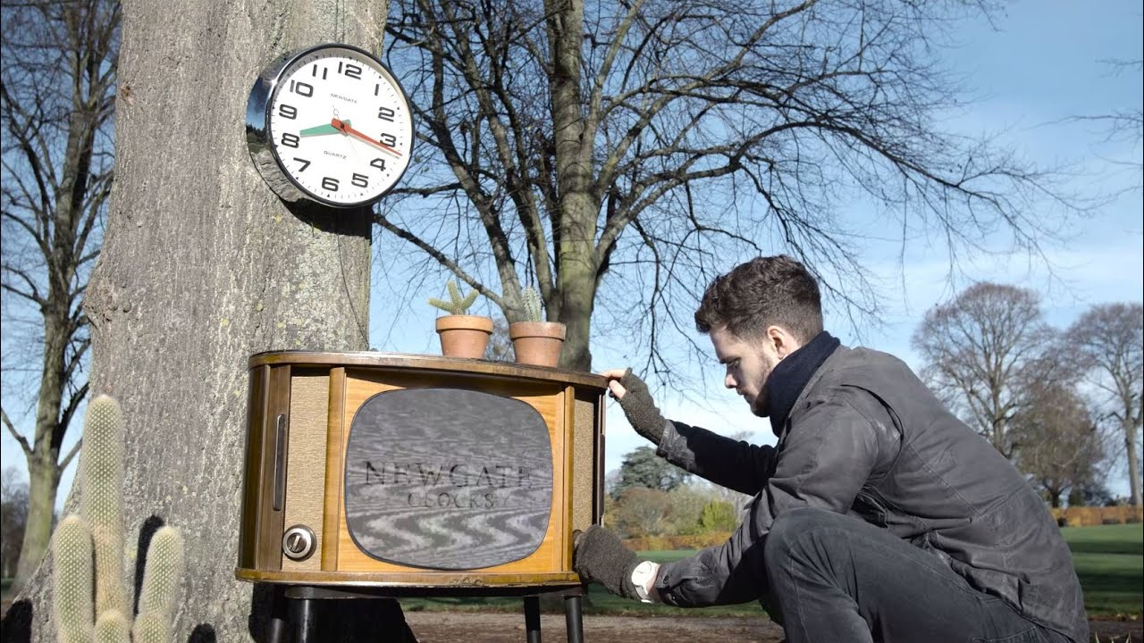 The brixton and watford wall clocks in telly in the park an the brixton and watford wall clocks in telly in the park an original short by newgate clocks amipublicfo Gallery