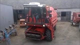 Kombajn Bizon Gigant 2017 #part2