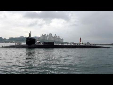 US missile-armed submarine docks in South Korea