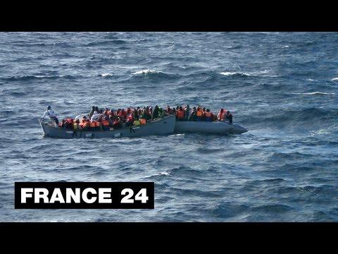 Immigration clandestine : 220 clandestins secourus par l'Italie au large de la Libye