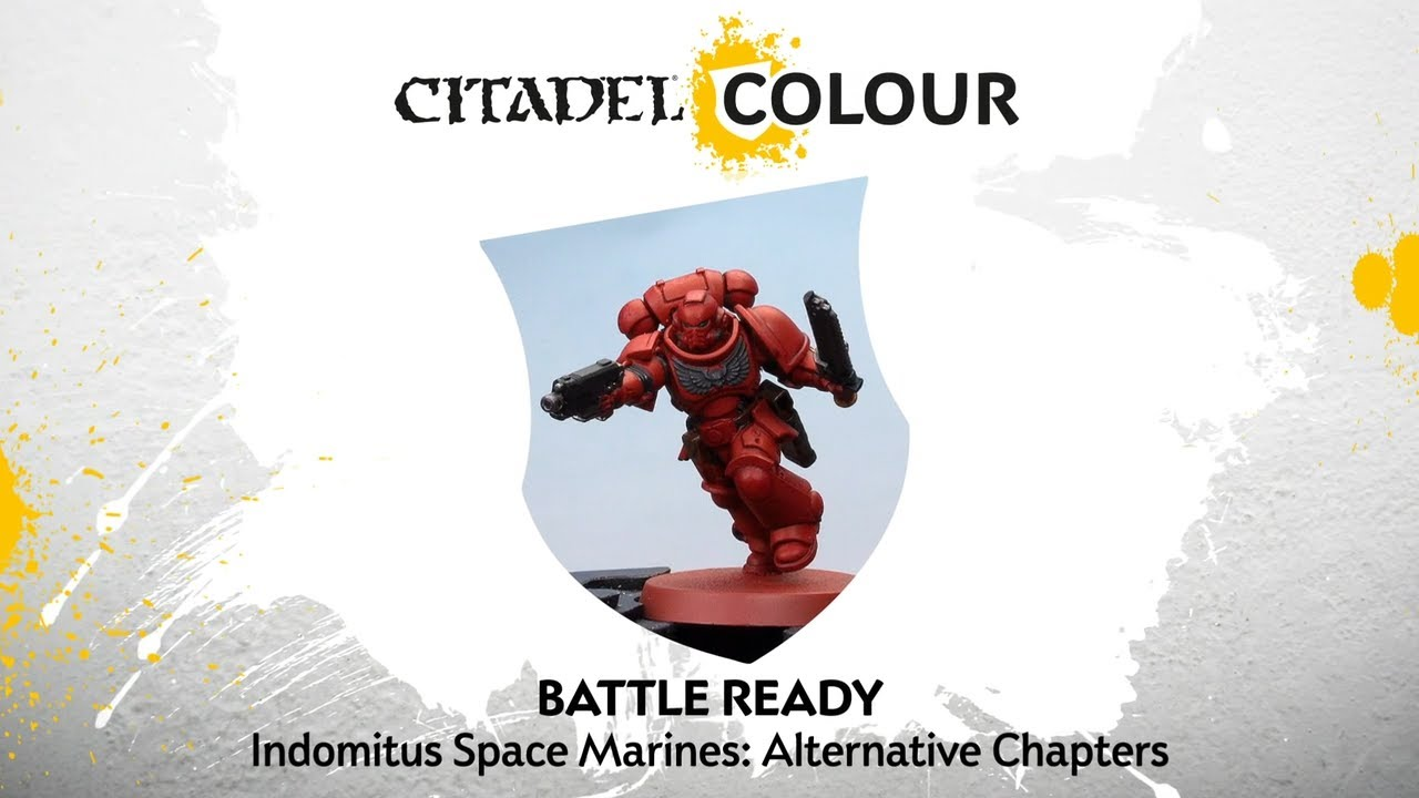 How to Paint: Battle Ready Space Marines - Alternative Chapters