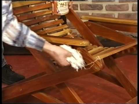 C mo mantener mis muebles de jardin de teca en perfectas for Muebles de teka para jardin