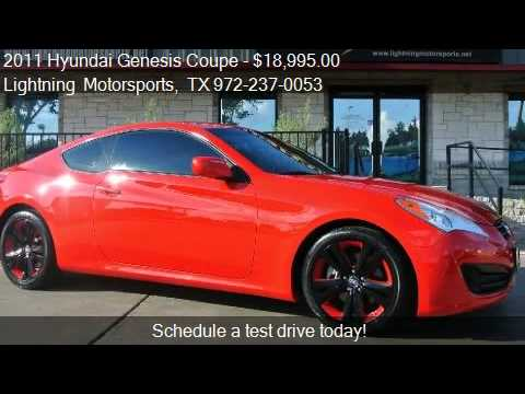 2011 Hyundai Genesis Coupe 2 0t Premium Auto For Sale In