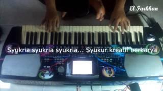 Qosidah karaoke + lirik Anakku original Nasida Ria cover by El Farkhan Kebumen