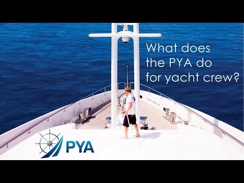 What does the PYA do for yacht crew?